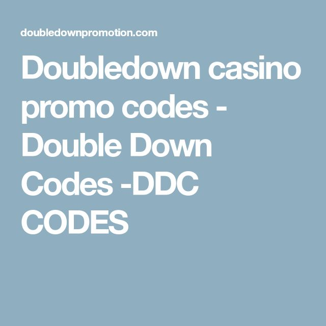 Best 25 promo codes double down ideas on pinterest double down doubledown casino promo codes double down codes ddc codes fandeluxe Choice Image