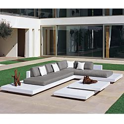Captivating Rausch Platform Outdoor Sectional Sofa The Sleek, Contemporary Design Of  The Platform Sectional Has A