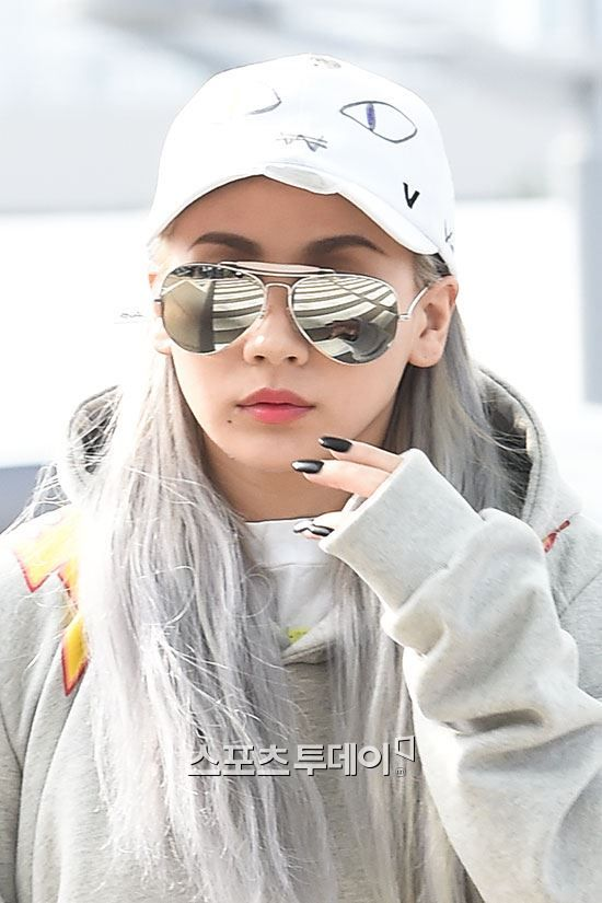 ADORABLE CL AT INCHEON AIRPORT HEADING TO TORONTO FOR MDBP (AUGUST 28, 2015)