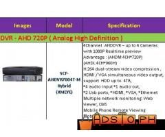 4 channel DVR analog DVR-AHD -1 year warranty-Scouter