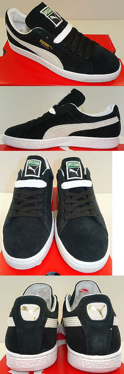 Men Shoes: Puma Suede Classic + Men S Casual Shoe 352634-03 Black White New -> BUY IT NOW ONLY: $49.99 on eBay!