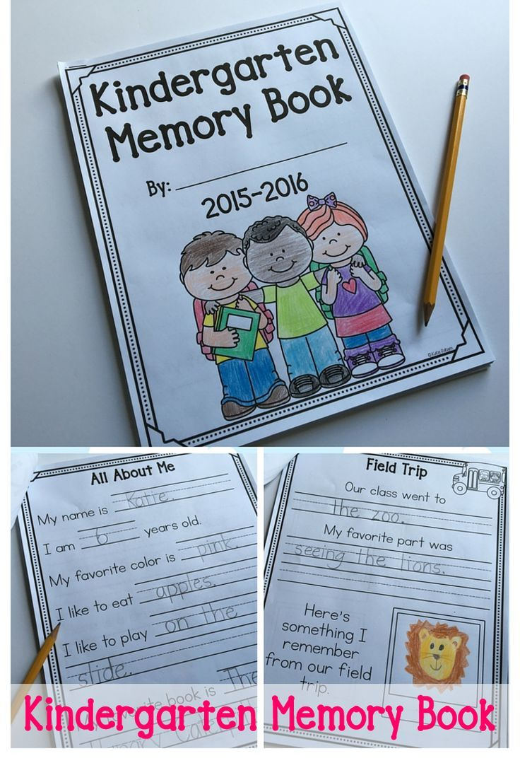 Book Cover Ideas For Preschool : Best kindergarten memory books ideas on pinterest