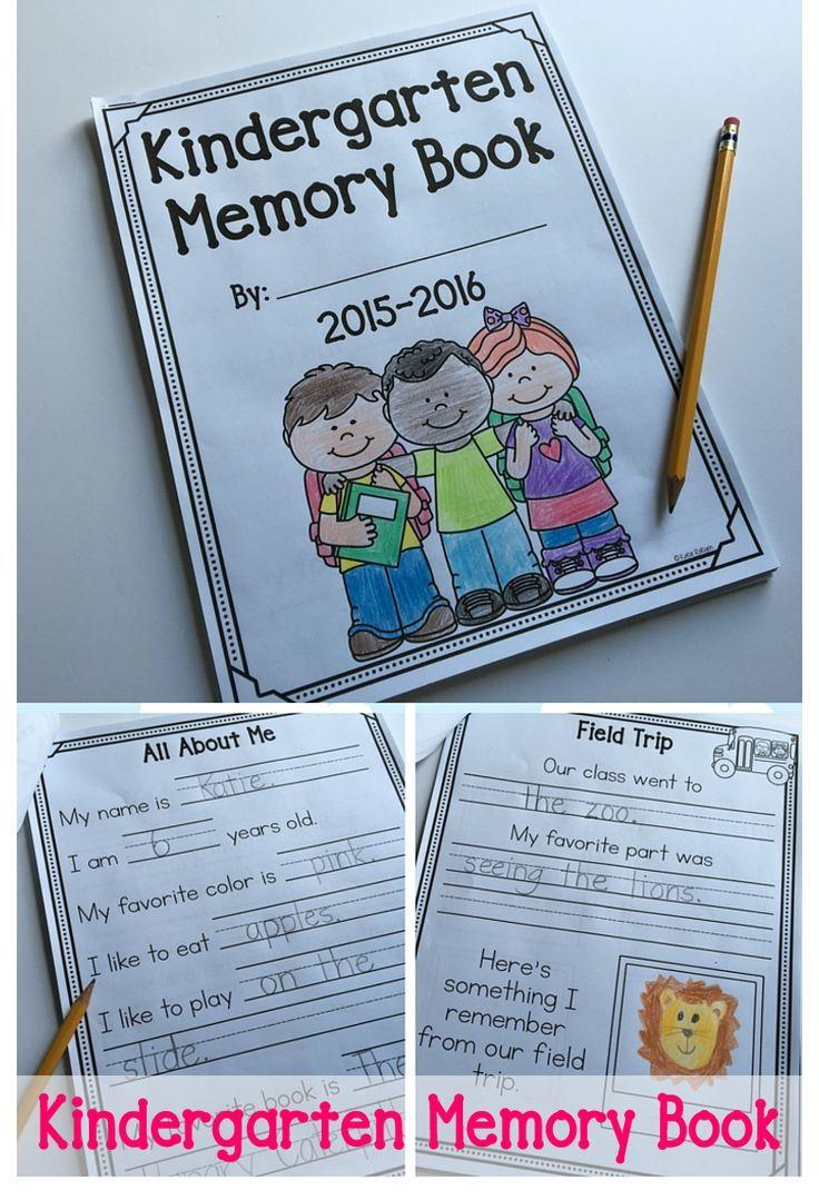 Senior Memory Book Cover Ideas ~ Best ideas about kindergarten memory books on