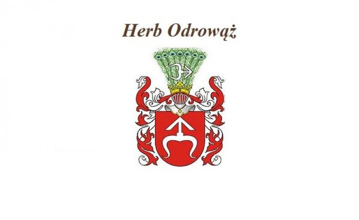Herb Mikołaja Chlewickiego-Odrowąża - właściciela Chlewisk w latach 1613-1661.