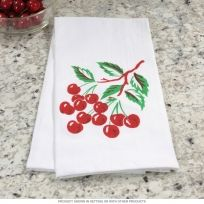 Cherry 50s Style Kitchen Dish Towel