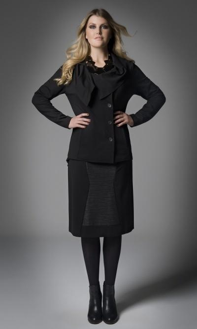 3157 JOYRIDE jacket,    3120 FEARLESS skirt