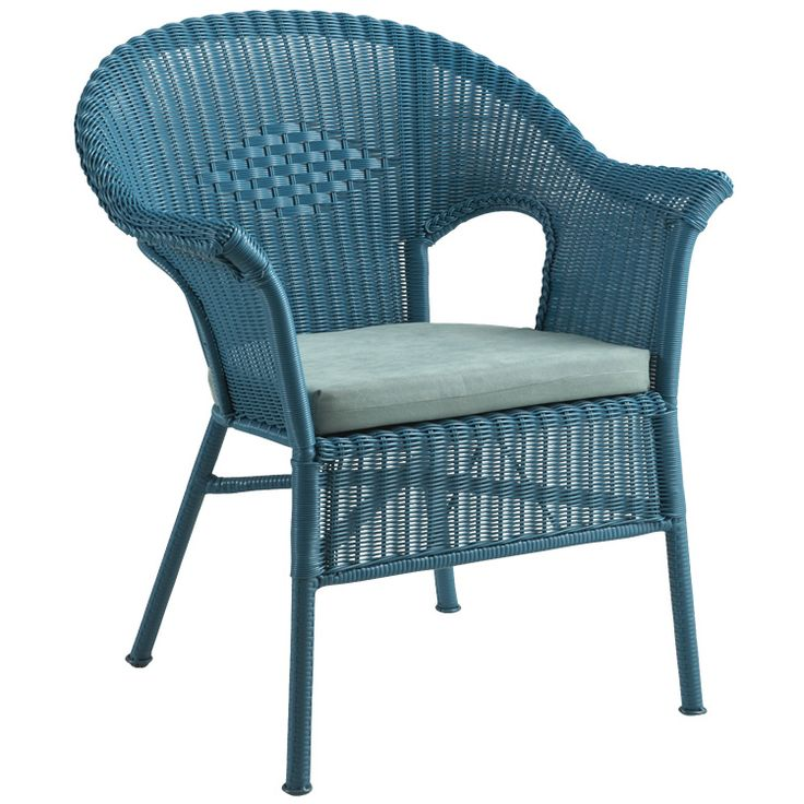Casbah Chair, Ocean   Modern   Outdoor Chairs   Pier 1 Imports Check For  White. Part 60