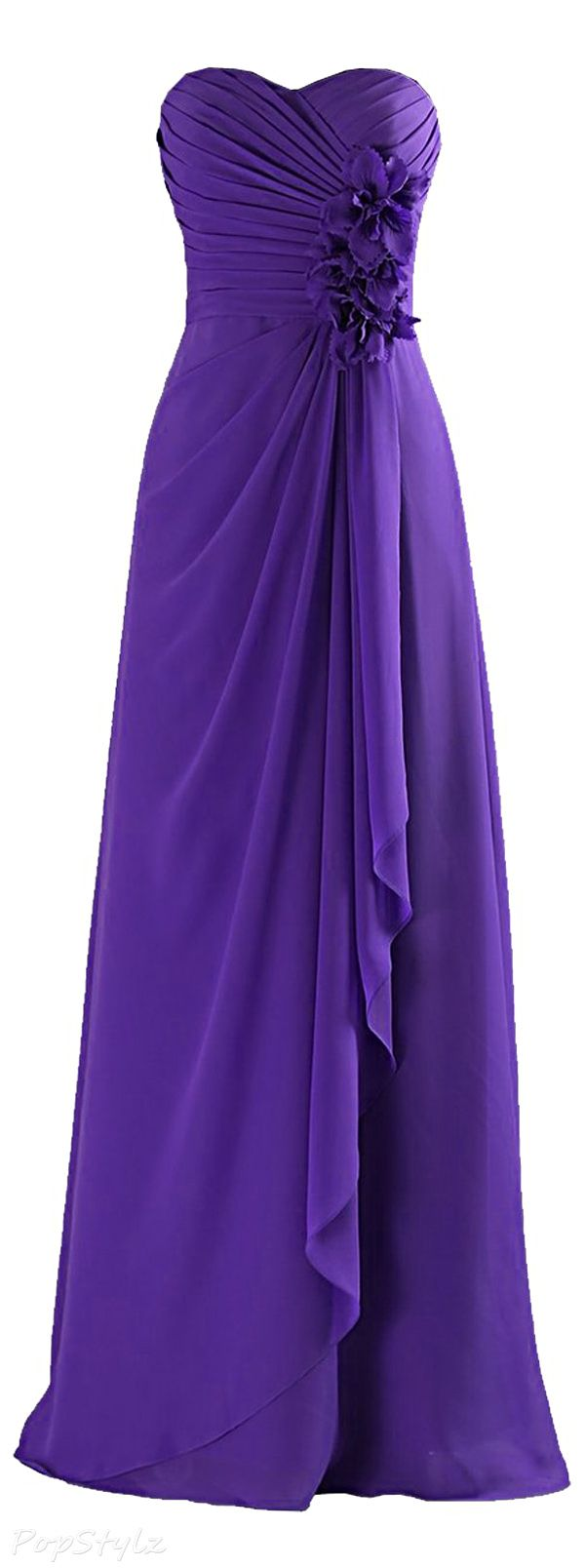 Sunvary Long Chiffon Formal Evening Gown