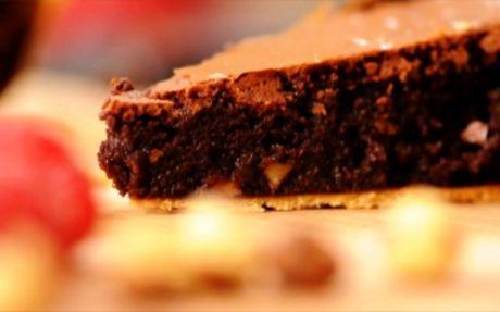 Chocolate Brownie Pie Recipe by Andy Bates