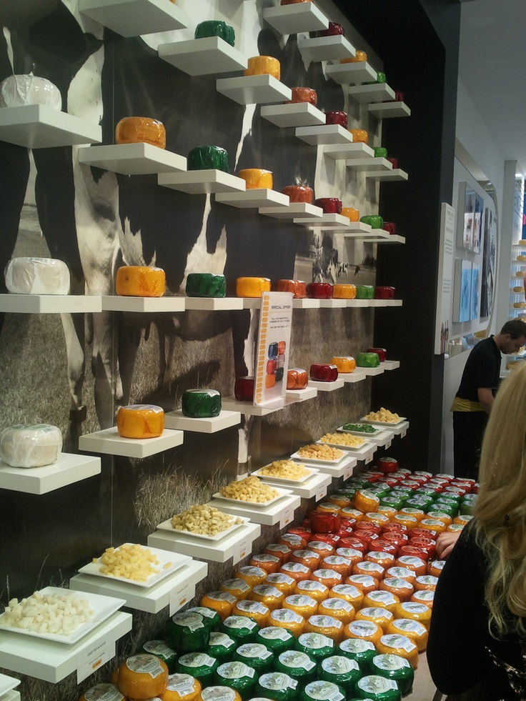 A cheese shop in Amsterdam, The Netherlands
