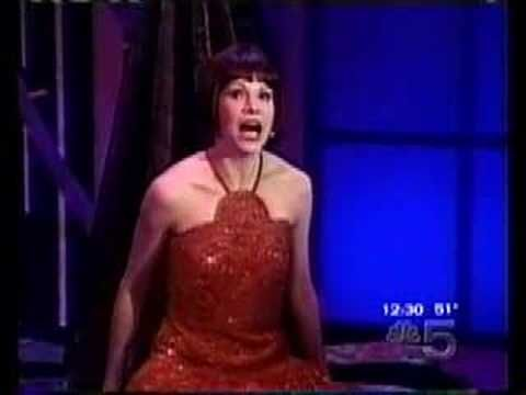 "Seriously she is awesome: Sutton Foster performs ""Gimme Gimme"" from Thoroughly Modern Millie on Rosie O'Donnell"