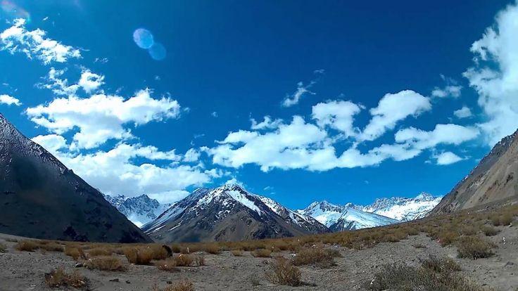 Cordillera de los Andes Time Lapse
