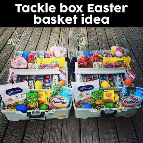 Less Candy, add Rods and actual fishing gear! Too cute! ♡♡♡