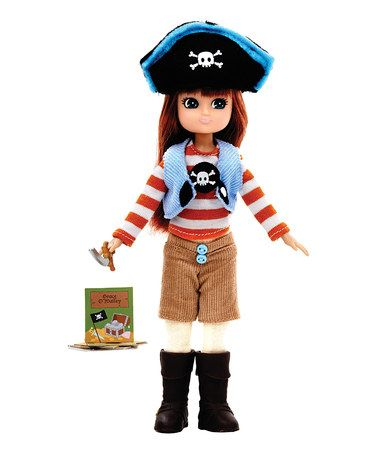 Pirate Queen Lottie DollKids Girls, Boys Toys, Pirates, Dolls Zulilyfinds, Girls Boys, Lottie Dolls, Lottie Zulilyfinds, Fun, Girls Baby