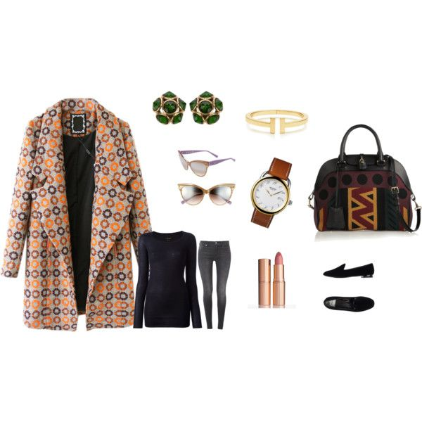 A fashion look from November 2014 featuring Isabel Marant sweaters, Chicnova Fashion coats and 7 For All Mankind jeans. Browse and shop related looks.