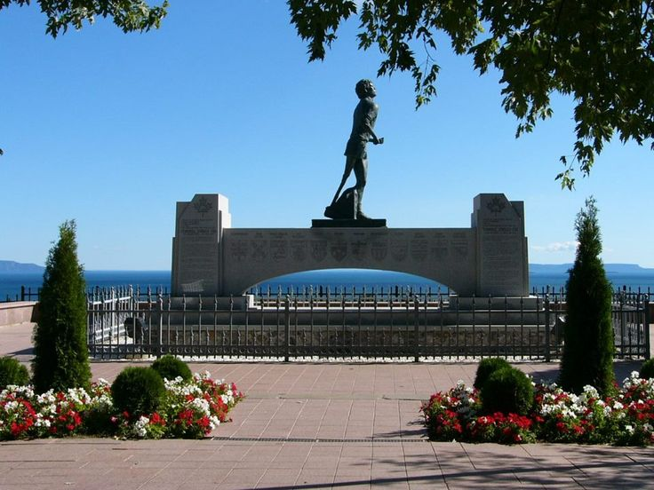 Terry Fox monument - Thunder Bay