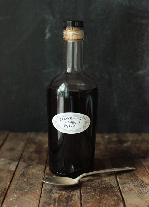 Elderberry Honey Syrup