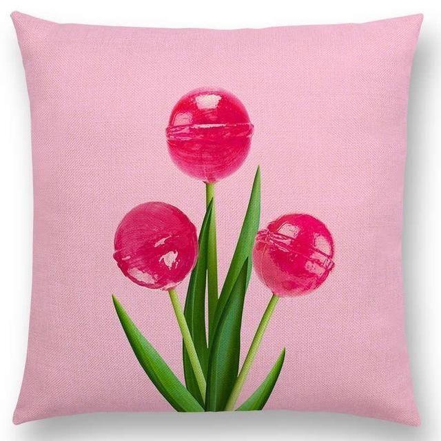 Candy Dreams Throw Pillows Collection