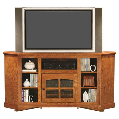 Loon Peak Glastonbury Solid Wood Tv Stand For Tvs Up To 70