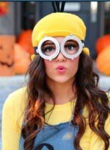 To complete your minion halloween costume you need some minion goggles! We have a range of ready to buy goggles and also a DIY guide. Two eyed or one eyed?