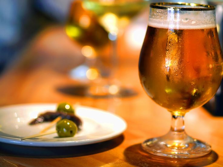 #icecold #beer and a #tapas ? Yes please!