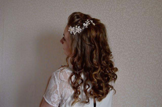 JulieMcQueen: Hairstyle: wedding or prom - tutorial  #beauty #fashion #cute #bornprettystore #Accessories #Hairstyle #wedding #prom  #tutorial #Earring
