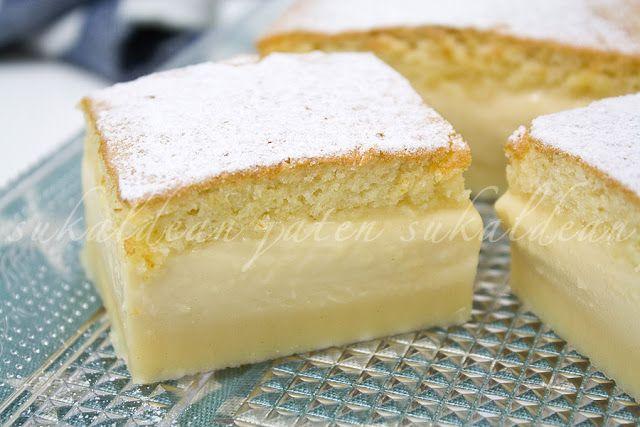e-cocinablog: pastel mágico de vainilla