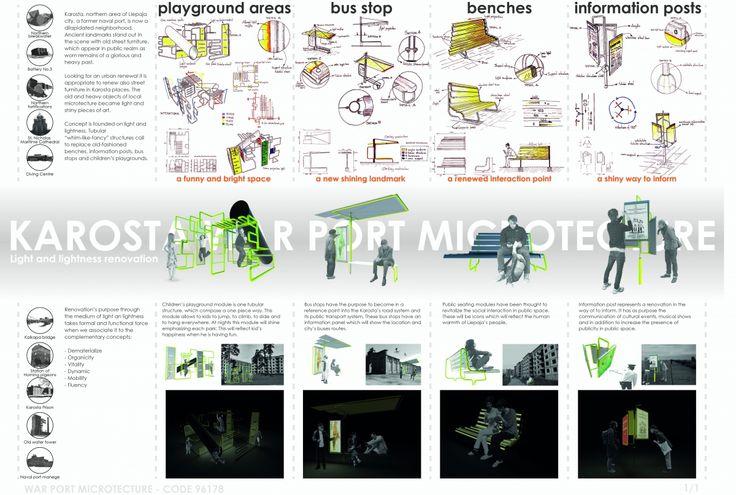 """Architecture competition """"War Port Microtecture"""" honorable mention - Diego Luis García Estefan / Juan Gonzalo Bula López / Juan Pablo García Estefan"""