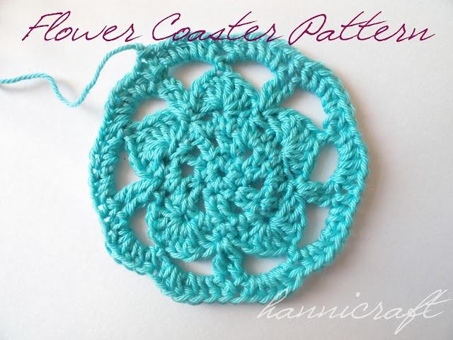 flower coaters: Crochet Stuff, Knits Crochet, Blue Flowers, Yarns Stuff, Flowers Coasters, Crochet Coater, Crochet Patterns, Coasters Patterns, Hannicraft