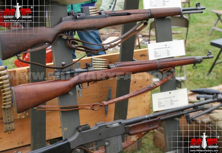 Springfield M1903 (Model 1903) - The famous Springfield M1903 bolt-action rifle appeared in mass quantities but in few variations - such was the success of the base design..US