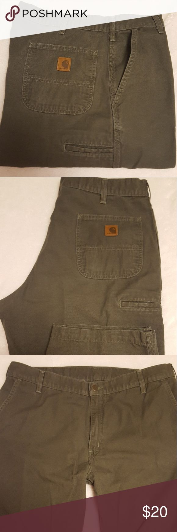 Carhartt jeans Dungaree work pants, no abrasion etc., excellent condition. Carhartt Jeans