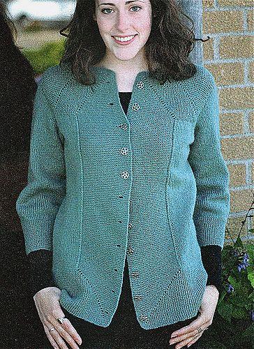 Ravelry: Mitered Cardigan pattern by Elizabeth Zimmermann