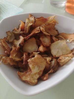 Giglio Cooking School: CHIPS DI TOPNAMBUR