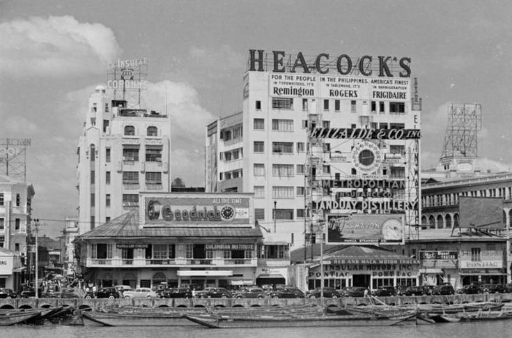 Heacock's Department Store on the Escolta | Manila Nostalgia