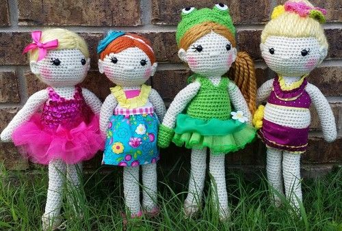 My 4 little ballerinas of the week !!