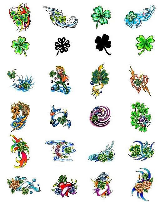 17 Best images about Four leaf clover tattoos on Pinterest ...