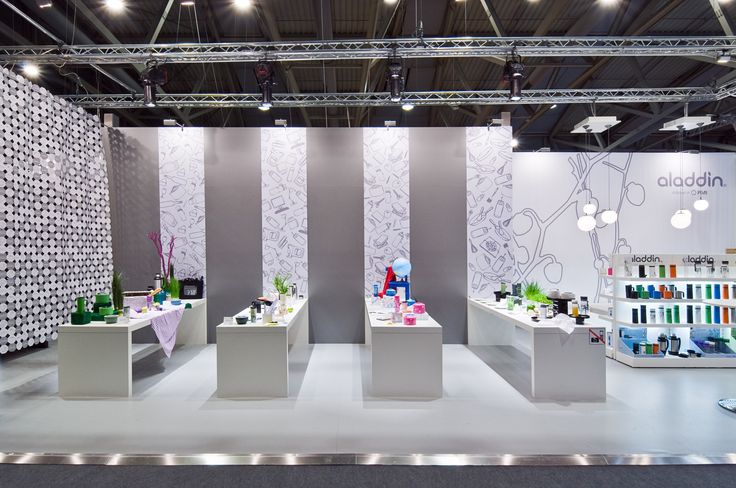 Aladdin Tradeshow Booth, Ambiente in Frankfurt, 2010