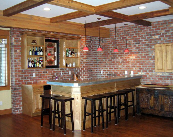 11 Best Rec Room Bar Images On Pinterest Basement Bars