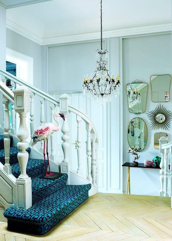 Un appartement classique devenu pop et excentrique - Marie Claire Maison
