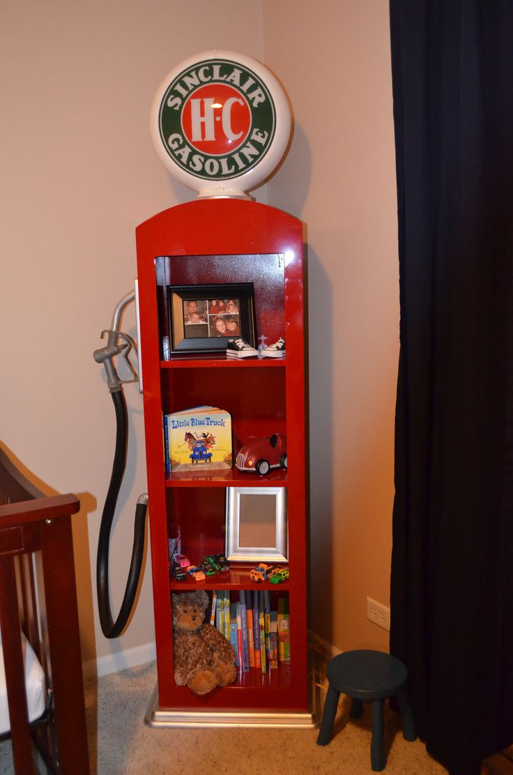 Custom Made Gas Pump Book Shelf Making One For Gabe S