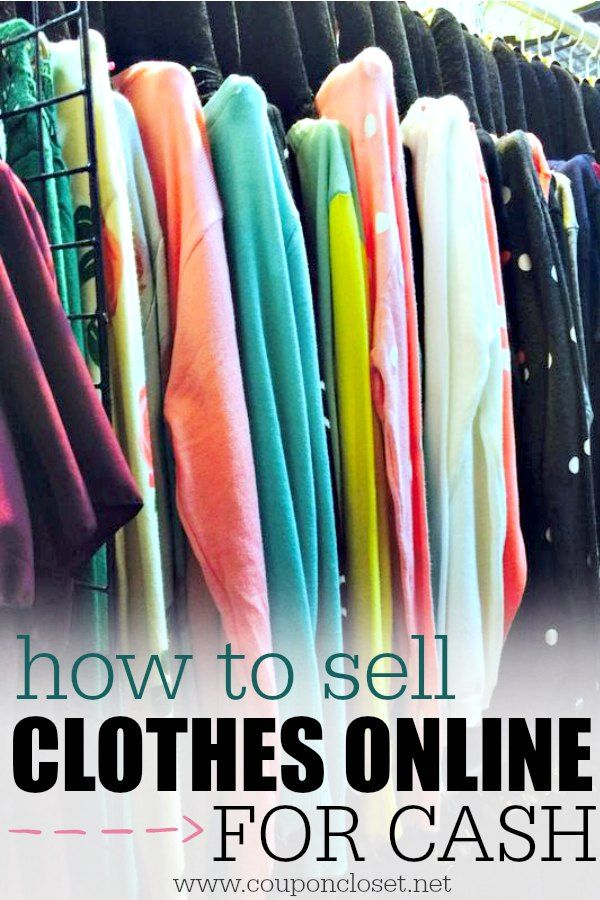 How to sell clothes online 5 easy tips clothes money for Easy things to sell for money