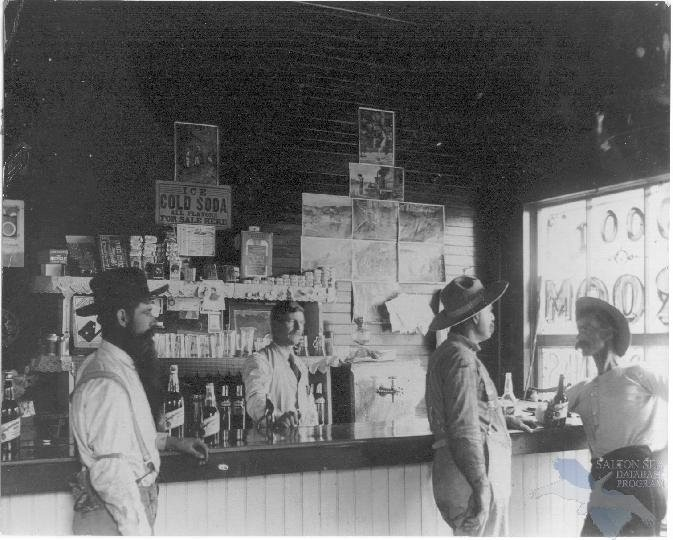 An old bar in Indio, Ca. 1800's | Coachella Valley Then ...
