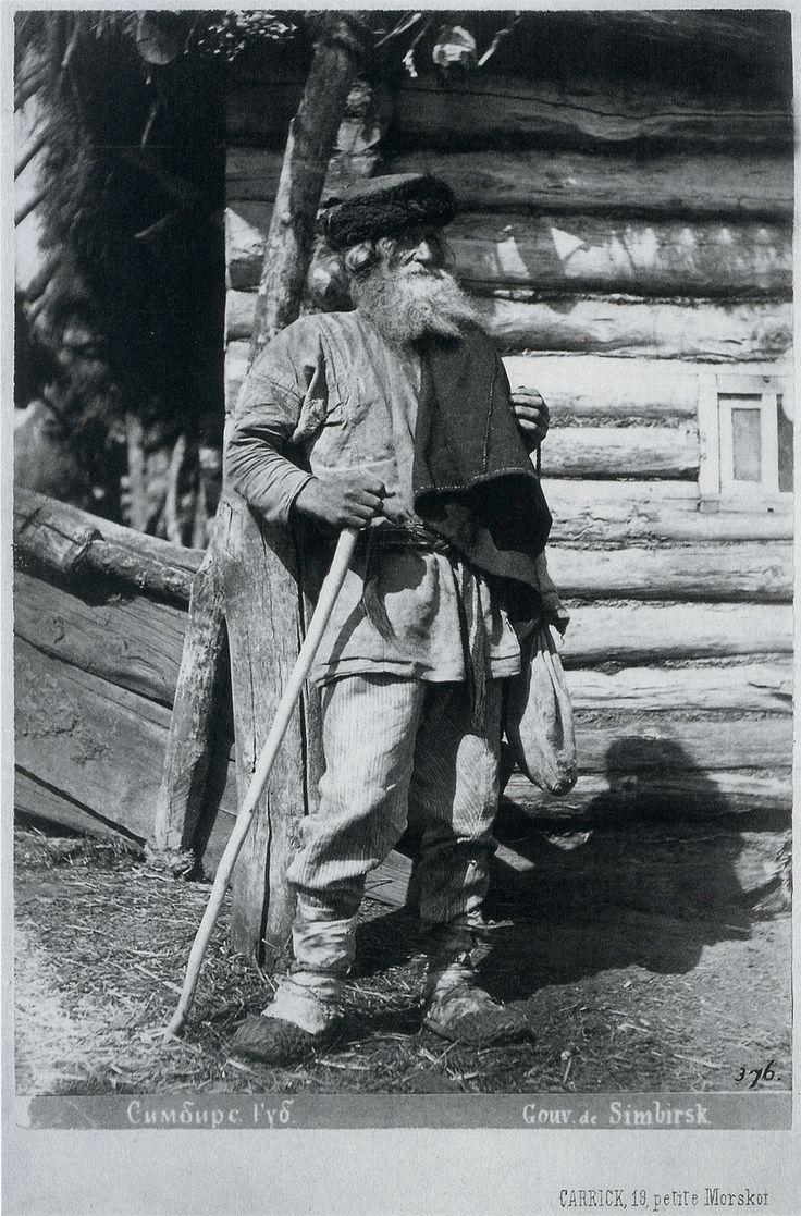 The farmer. Simbirsk province, 1870. Photographs of Carrick