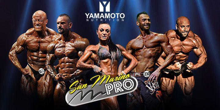 Il 14-15 Novembre si è svolta a San Marino presso Best Western Palace Hotel, la manifestazione di bodybuilding professionistico: San Marino Pro. Risultati e immagini delle categorie in gara: Open, Bikini, Women's Figure e Men's Physique. #iafstore #teamIAF #yamamotonutrition #bodybuilding