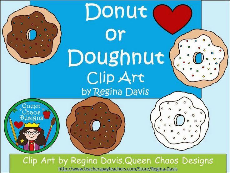 Free: Donut or Doughnut Clip Art. Enjoy! Regina Davis aka Queen Chaos at Fairy Tales And Fiction By 2