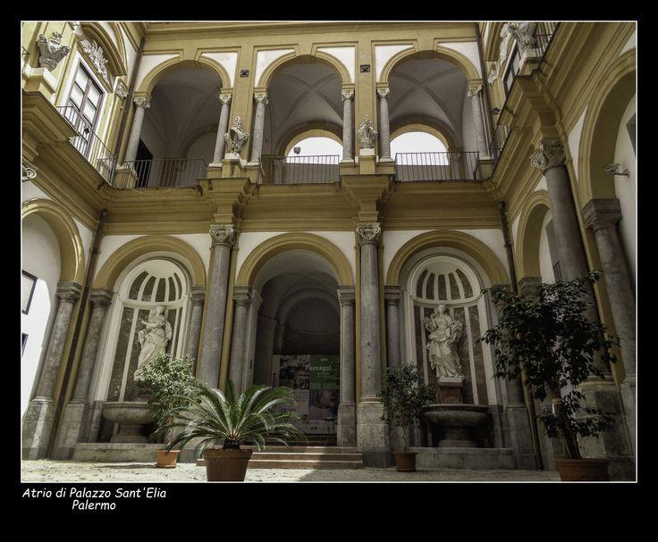 #Palazzo Sant'Elia #Palermo