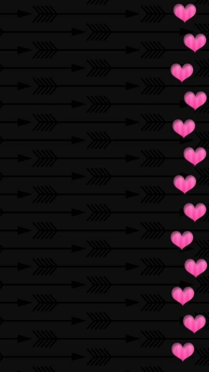 Download Heart Pattern Wallpaper By Societys2cent B1 Free On Zedge Now Browse Millions Of Pink And Black Wallpaper Flower Phone Wallpaper Heart Wallpaper