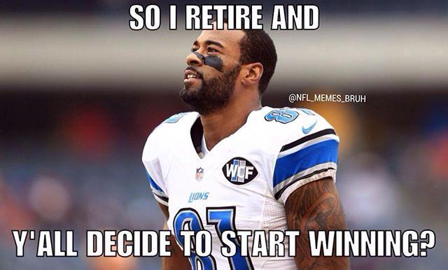 #NFL #NFLMemes #NFLMeme #CalvinJohnson #Lions #DetroitLions #Detroit #Funny #Lol #DoubleTap #FollowUs #Laugh #Football #Sports #Memes