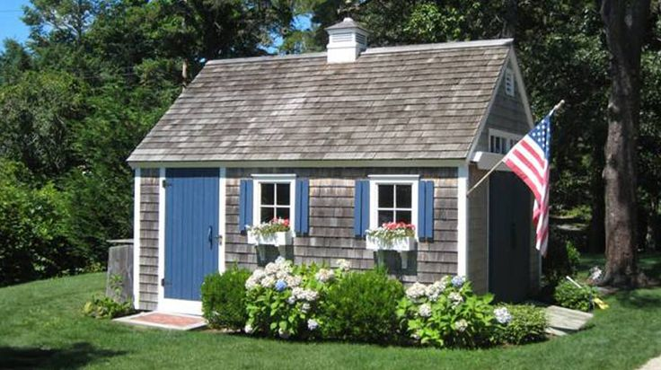 Signature Cape Codder Shed - Pine Harbor Wood Products