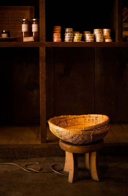 Japanese bamboo basket